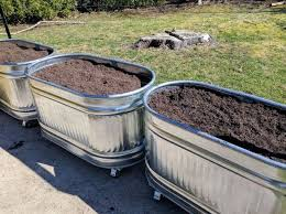 metal water trough planters 13 steps with pictures