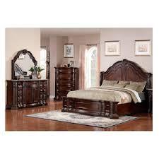 Edington Piece King Bedroom Set In Cherry Nebraska Furniture Mart - Furniture mart bedroom sets