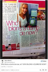 Dumb Blonde Memes - who blons a dumb de now is the nonsense meme you need in your