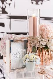 rose gold wedding ideas hotref party gifts
