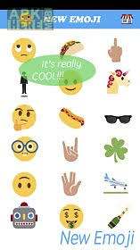 new emoji for android new emoji taco unicorn finger for android free at apk