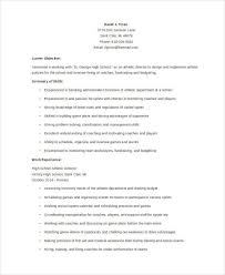 Sports Resume Sample by 7 Athletic Director Resumes Free Samples Examples Format