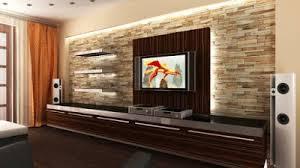 Modern TV Wall Design Home Interior Designs Tv Pannels - Modern tv wall design