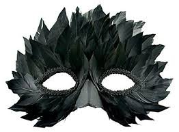 feather mask feather masks