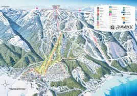 Ski Resorts In Colorado Map by Trail Map Tamarack Resort