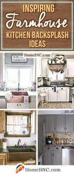 kitchen backsplash ideas for cabinets 8 best farmhouse kitchen backsplash ideas and designs for 2021
