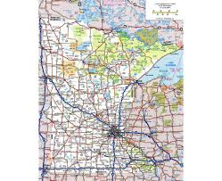 Map Mn Maps Of Minnesota State Collection Of Detailed Maps Of Minnesota
