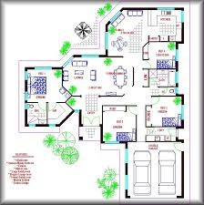 large single house plans single floor house plans floor house sq ft flat roof one floor