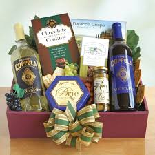 gift baskets for clients coppola vineyard gift box wine shopping mall