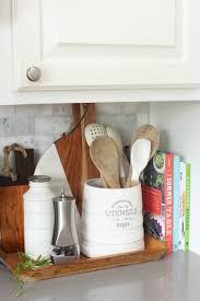 what should you use to clean wooden kitchen cabinets 20 things to declutter from the kitchen clean and scentsible