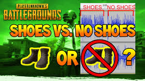 playerunknown s battlegrounds shoes vs no shoes are no shoes