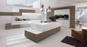 cuisine designe cuisine design blanche et bois