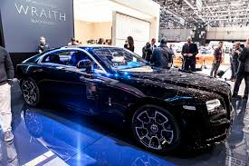 roll royce black 2016 geneva rolls royce wraith black badge modcarmag