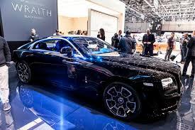 rolls royce wraith 2016 2016 geneva rolls royce wraith black badge modcarmag