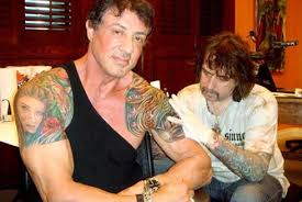celebrity tattoo artist mario barth on inking sylvester stallone