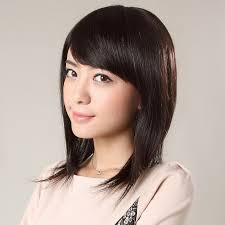 hairstyles medium length round face best medium length straight hairstyles with side bangs and layers