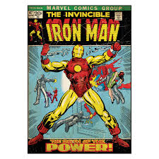 comic book cover iron man wall decal kids and comic book cover iron man wall decal kids and nursery art hayneedle