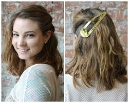 ways to style chin length hair 3 ways to wear an oversize barrette http birch ly khcprb hair