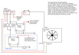 electric fan wiring diagram with relay gooddy org