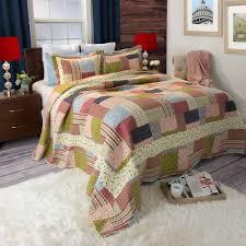 California King Quilt Bedspread Bedroom Bedding Savannah Quilt Set California King Size