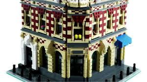 lego modular building corner shop u0026 apartments brickcitydepot