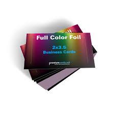 500 Business Cards 500 16pt Full Color Foil Business Cards 2x3 5 Premium