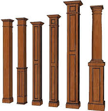 Pillar Designs For Home Interiors by Free Interior Column Plans Interior Columns Columns And Basements
