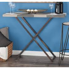Iron Sofa Table by Modern Iron And Mdf Console Table With Rustic Tabletop 47967 The