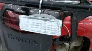 Backup Lights Warn Atv Back Up Light Kit Youtube