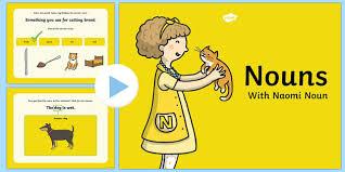 nouns powerpoint nouns powerpoint words grammar gang