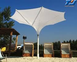 Big Patio Umbrella White Overhanging Outdoor And Patio Umbrella Parasol