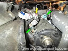 2004 Porsche Cayenne Turbo - porsche cayenne starter replacement 2003 2008 pelican parts