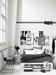 relooking déco chambre en noir et blanc côté maison