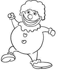 coloring pages of scary clowns how to draw a scary clown cliparts co