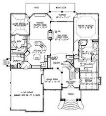 house plans two master suites one story house plans with two master bedrooms home designs ideas
