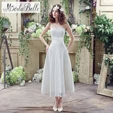 white casual wedding dresses in stock 2016 white ivory sweetheart lace wedding dresses a line