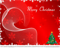 free merry greeting card on background vector