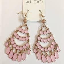 Pink Chandelier Earrings Aldo Jewelry Fp Pink Chandelier Earrings Poshmark