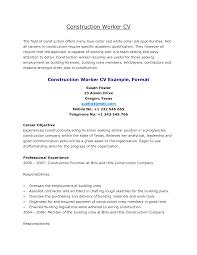 Laborer Resume Sample by Resume Construction Resume Sample