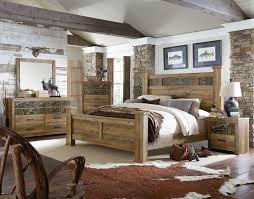 habitat mossy oak wood 2pc bedroom set w queen poster bed