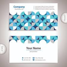back of business cards excellent business cards front back template vector 04 vector