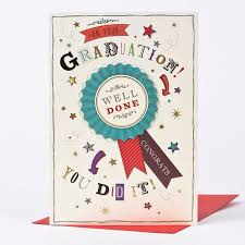congratulations card congratulations card graduation rosette only 79p