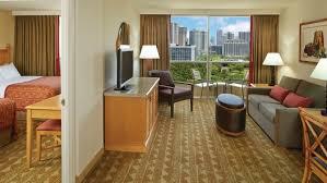 two bedroom suites waikiki oahu one two bedroom suites embassy suites waikiki beach walk