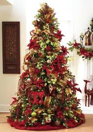 large brown christmas tree gold and christmas table decorations gold and brown