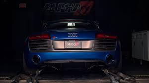 Audi R8 Turbo - alpha performance audi r8 v10 twin turbo