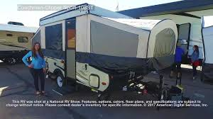 coachmen travel trailer floor plans coachmen clipper sport 108st youtube