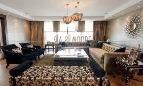 Turkish Interior Design Diamond Residence Istanbul Turkey Contemporary Living Room
