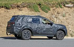 nissan truck 2018 nissan spied testing pickup truck based suv autoguide com news