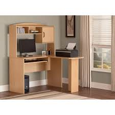 mainstays l shaped desk with hutch mainstays l shaped desk with hutch multiple finishes walmart com