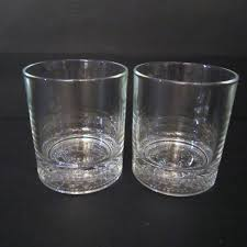 rocks glass royal italy round rocks glass lowball embossed bottom